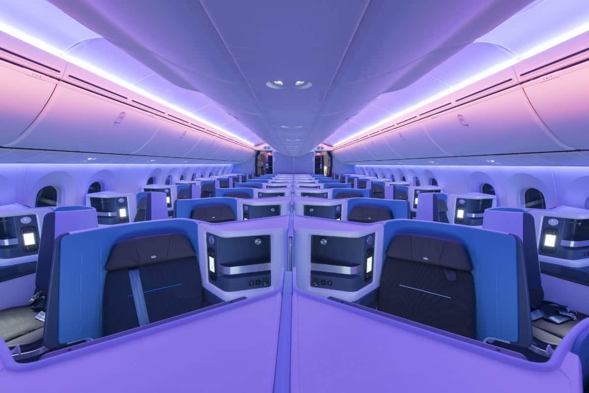 KLM Business Class
