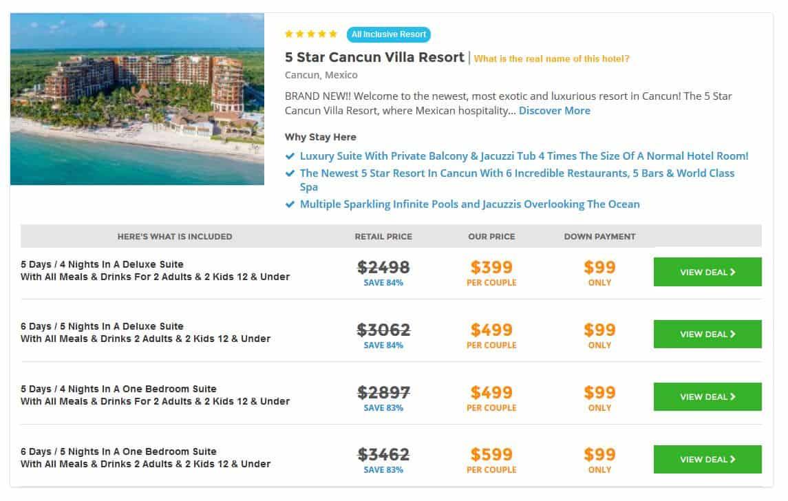 Cancun Hotel Deals