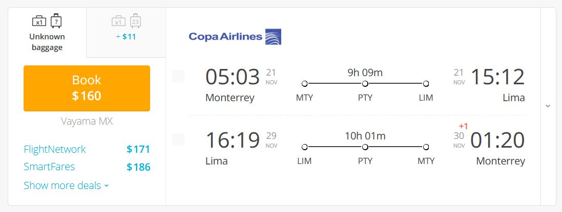 To Lima