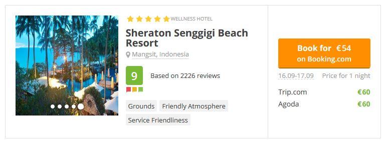 Sheraton Senggigi Lombok