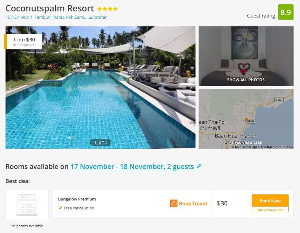Samui Hotel Deal