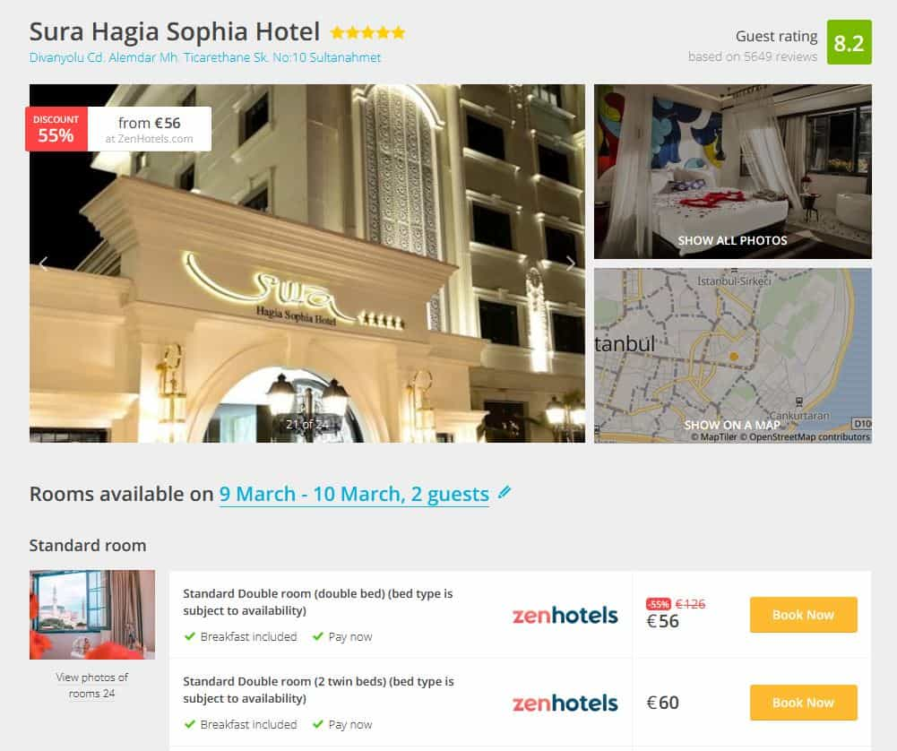 Istanbul Hotel Deal