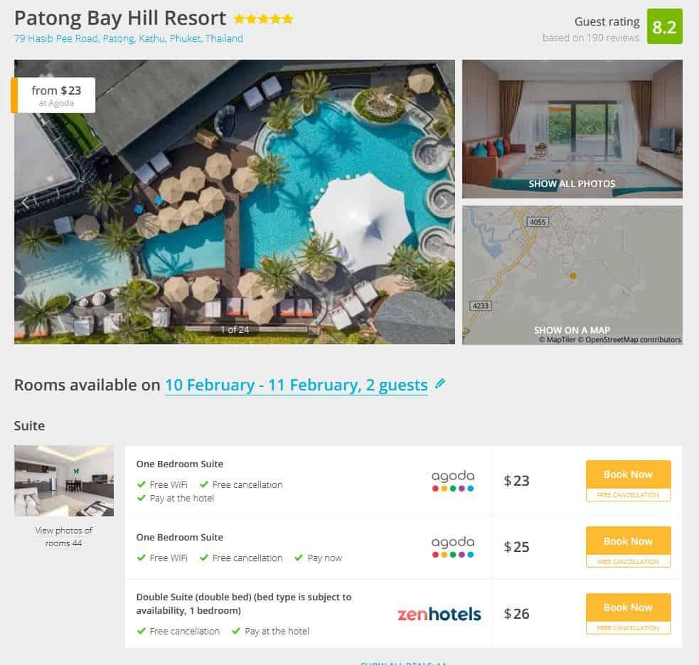 Phuket Hotel Deal