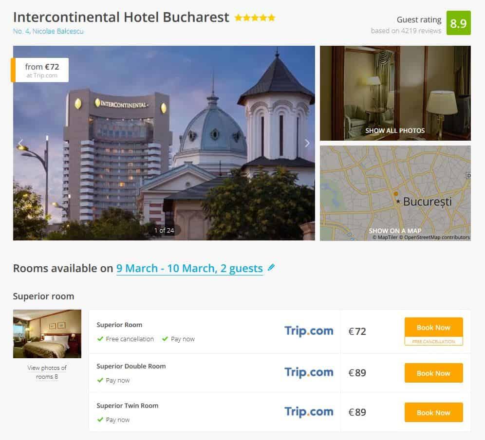 Interconti Bucharest