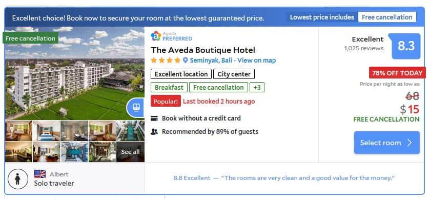 Bali Adeva Hotel