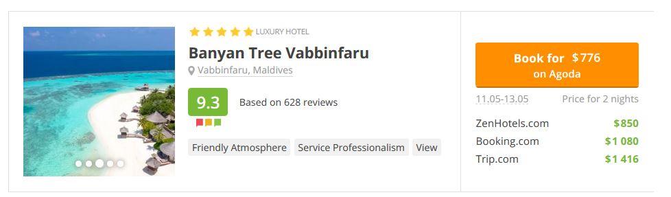 Maldives Banyam Tree