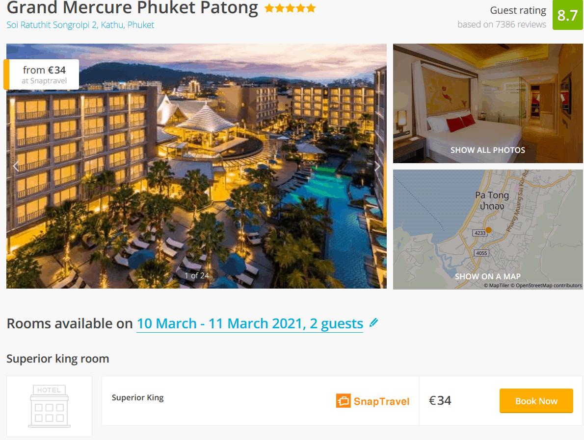 Grand Mercure Phuket Deal