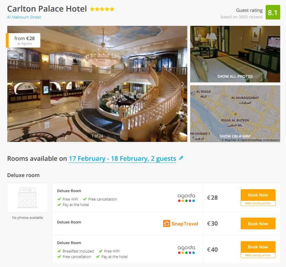 Dubai Hotel Deal