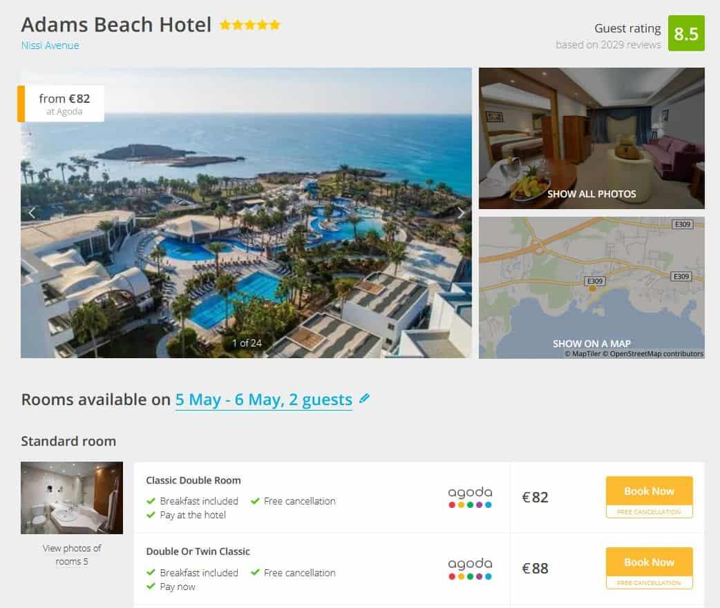 Adams Beach Deal
