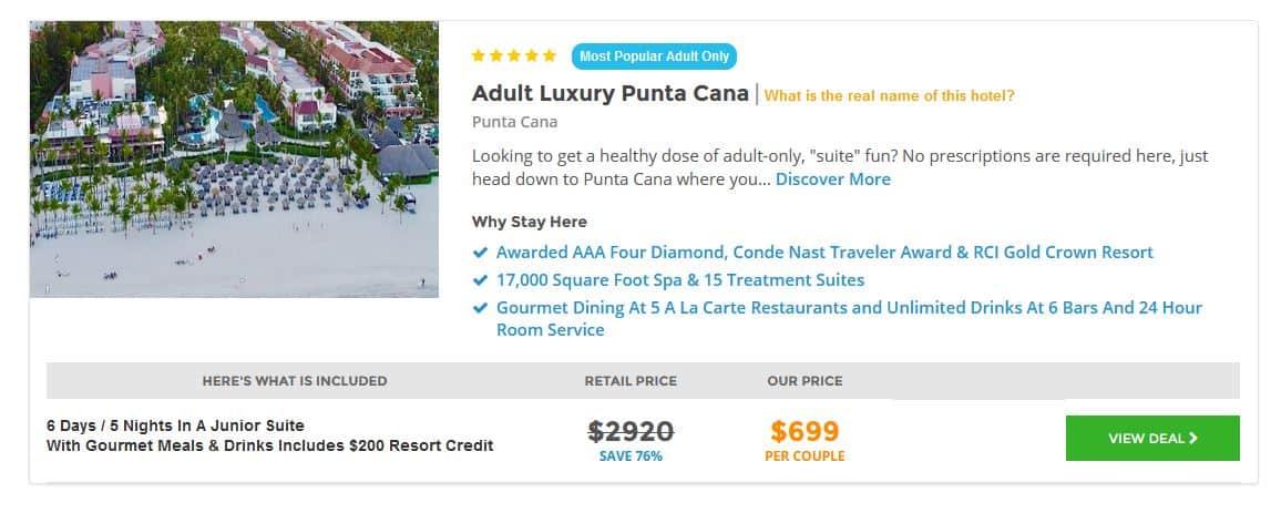 Punta Cana Deal