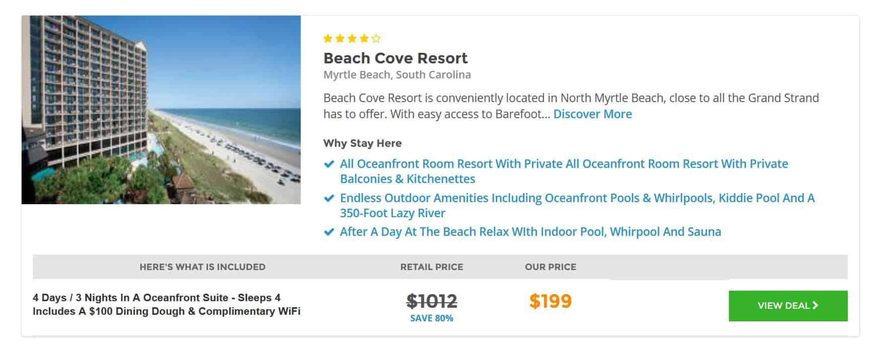 Myrtle Beach Hotel Deal