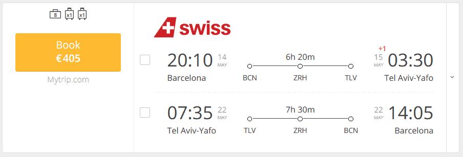 Swiss Flight